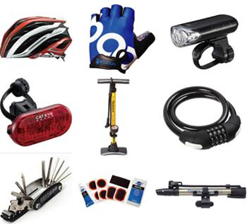 ロードバイクに必要な備品