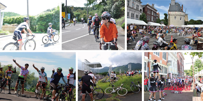 楽しいサイクルイベント画像。 ブログ:ママチャリとは全然ちがうぞ!スポーツ自転車の良さとは?