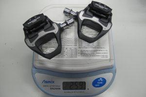 PD-6800 シマノ アルテグラ ピンディングペダルの重量 実測値