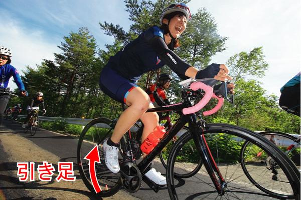 引き足の使い方 ロードバイク ペダリングの基本