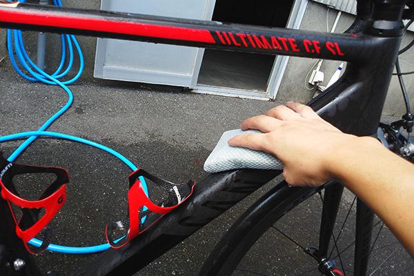 AZ 自転車用バイクウォッシュ[Blw-001]でフレームをきれいに!