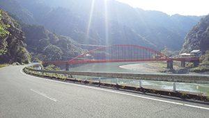 ロードバイク ロングライド 熊本県八代市~人吉市 橋