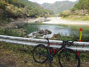 ロードバイク ロングライド 熊本県八代市~人吉市