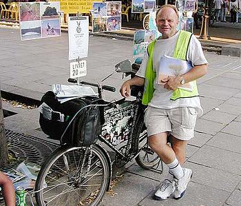 ハインツ・シュトゥッケさんの自転車旅 すごすぎる!自転車を愛しすぎた冒険家と偉人たち