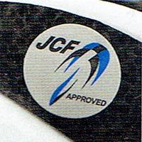 ロードバイクのヘルメット ロードレースに参加する人はJCF公認シールが貼ってあるか確認しましょう。