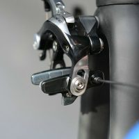 【画像】 ロードバイクのブレーキシュー交換とブレーキセンター調整