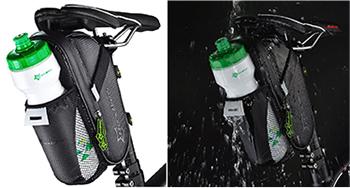 ロックブロス/ROCKBROS ナイロン防水 シートポストバッグ ボトルバッグ ロードバイクのおすすめサドルバッグ