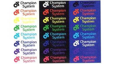 オーダージャージはベース色とロゴの色の組み合わせを考える