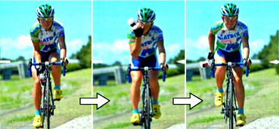 ロードバイクで安全に水分補給する方法