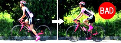 ロードバイクの普通の走り出し パート2