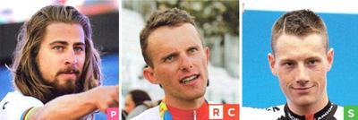 2017年ロードレース ボーラ・ハンスグローエの注目選手 ペテル(ペーター)・サガン/ラファウ・マイカ/サム・ベネット