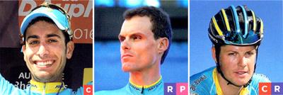 2017年ロードレース アスタナプロチームの注目選手 ファビオ・アル/ヤコブ・フルグサング/ルイスレオン・サンチェス