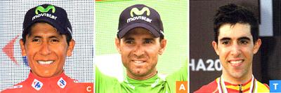 2017年ロードレース モビスター チームの注目選手 ナイロ・キンタナ/アレハンドロ・バルベルデ/ヨナタン・カストロビエホ