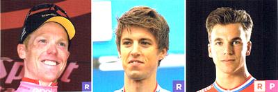 2017年ロードレース エンエル・ユンボの注目選手 スティーフェン・クライスヴァイク/ジョージ・ベネット/ディラン・フルーネウェーヘン