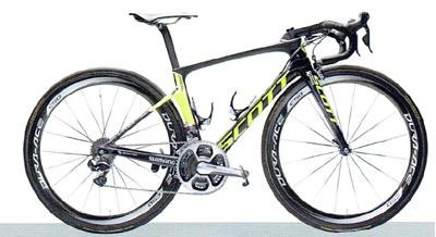 2017シーズン ORICA-SCOTT/オリカ・スコット使用ロードバイク【SCOTT FOIL RC/スコット・フォイル RC】