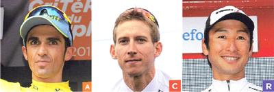 2017年ロードレース トレック・セガフレードの注目選手 アルベルト・コンタドール/バウケ・モレマ/ジョン・デゲンコルブ