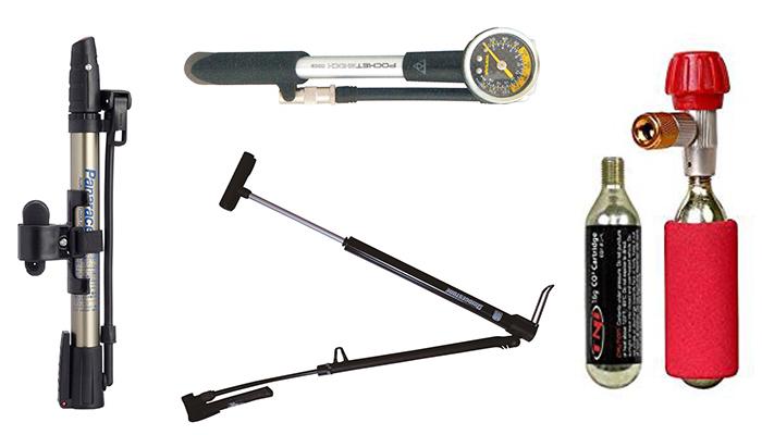 パンク修理の必須アイテム!スポーツバイク用おすすめ携帯空気入れ!
