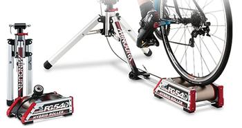 ハイブリッド式ローラー台の参考画像 ロードバイクでダイエットトレーニング