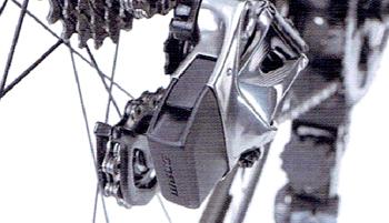 電動無線式コンポーネント SRAM RED e TAP【スラム レッド イータップ】のリヤディレイラー内蔵バッテリー