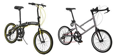 小径車(ミニベロ)自転車が格安