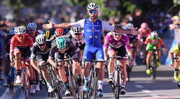 2017年 ジロ・デ・イタリア 第5ステージで優勝したフェルナンド・ガビリア(クイックステップフロアーズ)