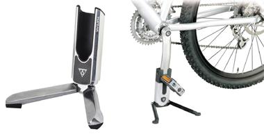 シンプルにスポーツ自転車を立てかけるフラッシュスタンド
