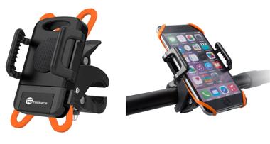 スマホを自転車のハンドルに取り付けられるスマホホルダー(マウントキット)