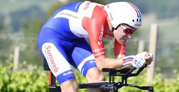 2017年 ジロ・デ・イタリア 第10ステージで優勝したトム・デュムラン(チーム・サンウェブ)