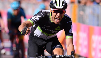 2017年 ジロ・デ・イタリア 第11ステージで優勝したオマール・フライレ(ディメンションデータ)