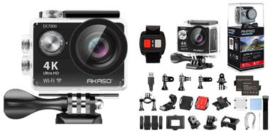 AKASOのスポーツカメラ EK7000 4K WIFI