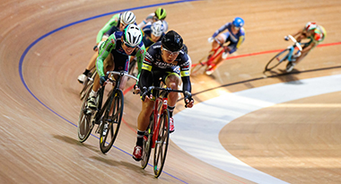 自転車トラック競技のポイントレース
