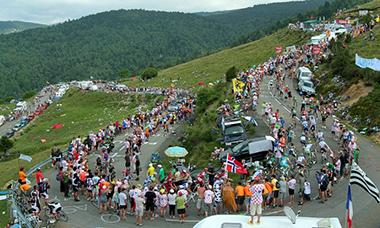 ロードレース ステージレース(グランツール)の様子