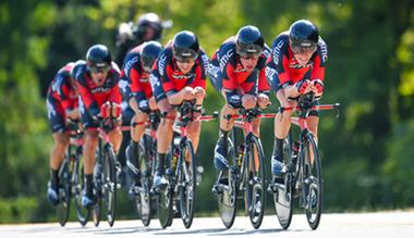 スポーツ自転車レース チームタイムトライアル(TTT)