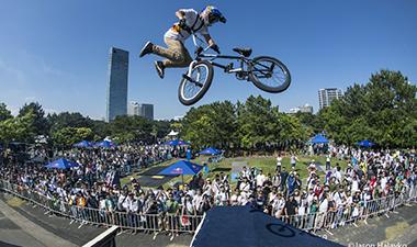 BMX競技 フリースタイル