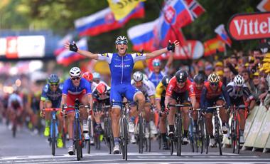 2017年ツール・ド・フランス 第2テージ優勝のマルセル・キッテル