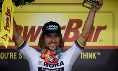2017年ツール・ド・フランス 第3テージ優勝のペーター・サガン