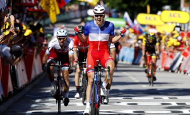 2017年ツール・ド・フランス 第4テージ優勝のアルノー・デマール