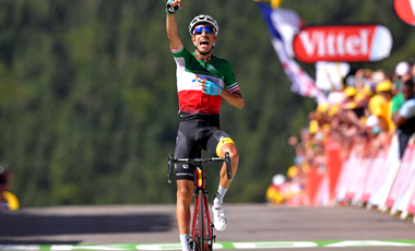 2017年ツール・ド・フランス 第5テージ優勝のファビオ・アル