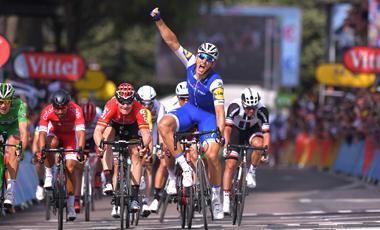 2017年ツール・ド・フランス 第6テージ優勝のマルセル・キッテル 本大会2勝目