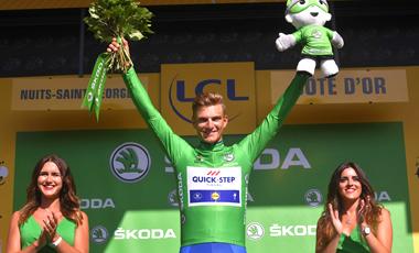 2017年ツール・ド・フランス 第7テージ優勝のマルセル・キッテル 本大会3勝目