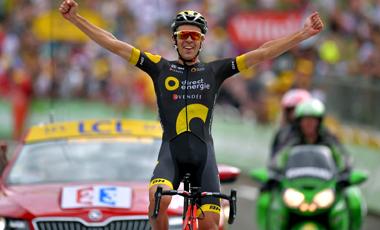2017年ツール・ド・フランス 第8テージ優勝のリリアン・カルメジャーヌ