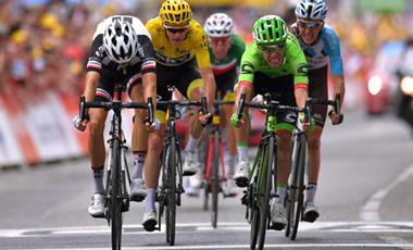 2017年ツール・ド・フランス 第9テージ優勝のリゴベルト・ウラン