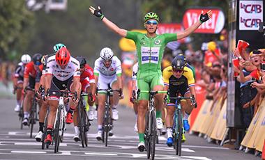 2017年ツール・ド・フランス 第10テージ優勝のマルセル・キッテル