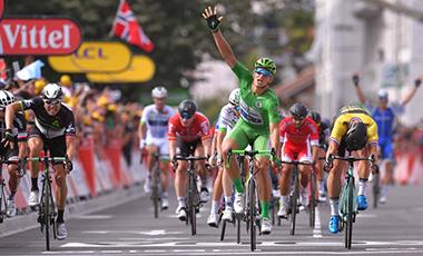 2017年ツール・ド・フランス 第11テージ優勝のマルセル・キッテル