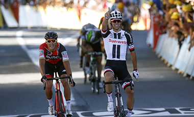 2017年ツール・ド・フランス 第14テージ優勝のマイケル・マシューズ