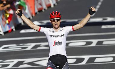 2017年ツール・ド・フランス 第15テージ優勝のバウケ・モレマ