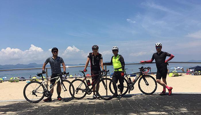 田舎を走る!ペダリスタを見てくれた人と真夏のサイクリング
