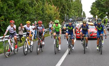 2017ツール・ド・フランス 21ステージでコロンビアの選手が集結