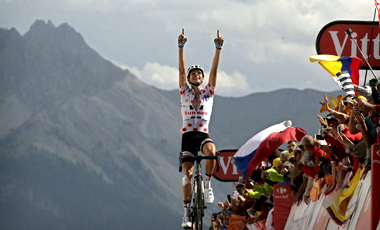 2017年ツール・ド・フランス 第10テージ優勝のワレン・バルギル