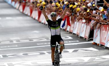 2017年ツール・ド・フランス 第10テージ優勝のエドワルド・ボアッソンハーゲン
